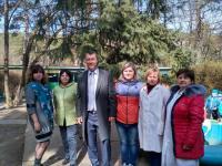 Встреча сотрудников МБДОУ с депутатом горсовета Будановым И. В.