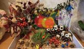"""Осенняя выставка поделок из природного материала: """"Синьорита картофелина"""""""